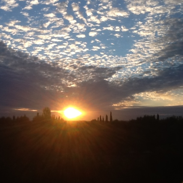 Amanecer en La Mancha